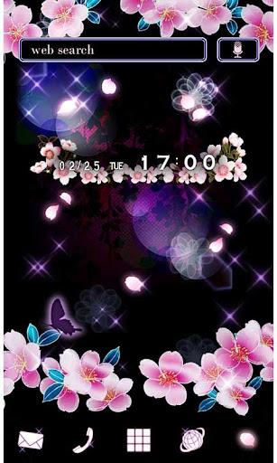 Beautiful Theme Sakura Night 1.0 Windows u7528 1
