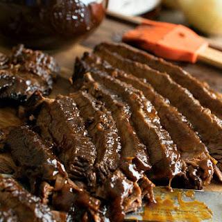Slow Cooker Barbecue Beef Brisket.