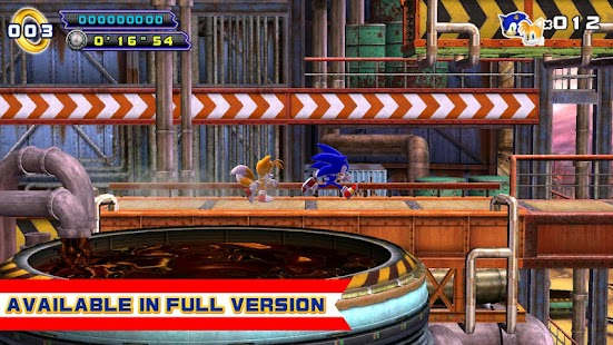 Sonic 4 Episode II THD Lite - screenshot thumbnail