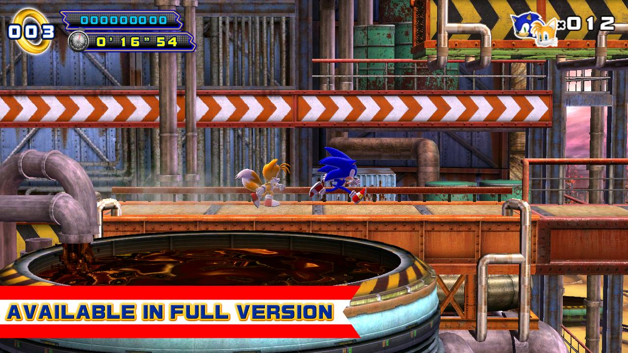 Sonic 4 Episode II THD Lite- screenshot