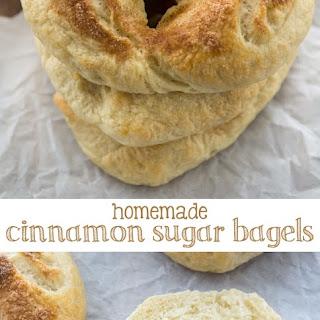 Cinnamon Sugar Bagels