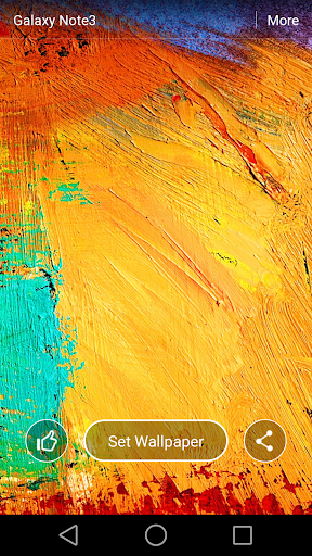 GALAXY Note3 Live Wallpaper