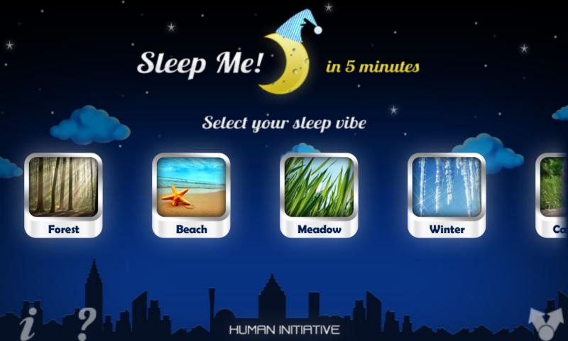 Sleep Me!- screenshot