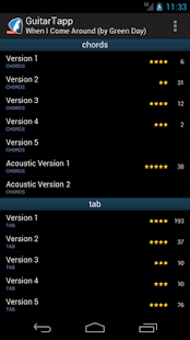 GuitarTapp PRO - Tabs & Chords - screenshot thumbnail