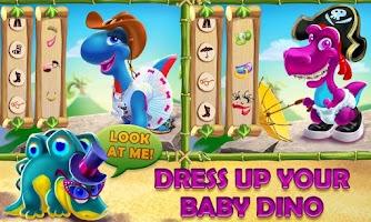 Screenshot of Dino Day! Baby Dinosaurs Game