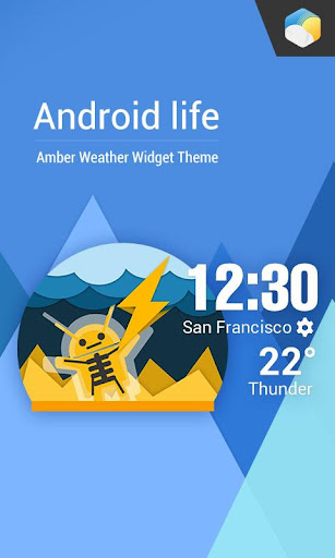 Daily Life With Weather Widget  screenshots 1