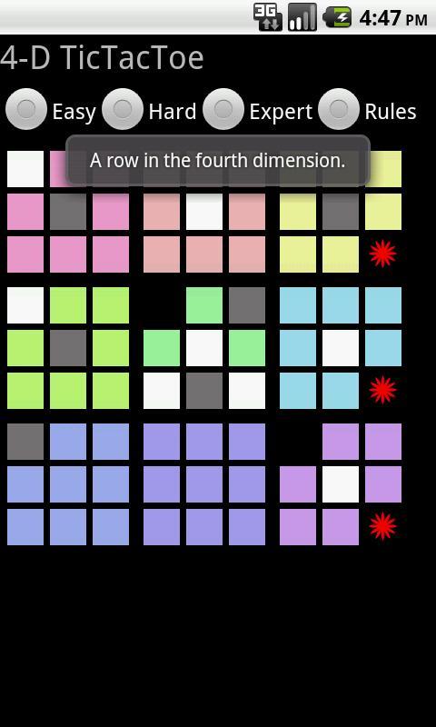 Four-D Tic Tac Toe- screenshot