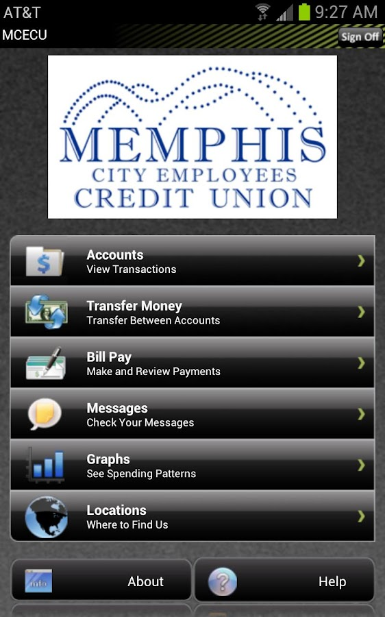 Memphis City Employees CU - screenshot