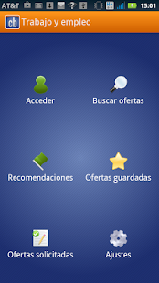 Trabajo y empleo Screenshot