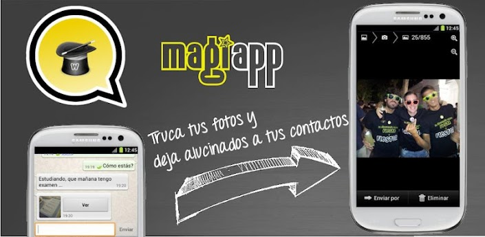 magiapp tricks for WhatsApp!