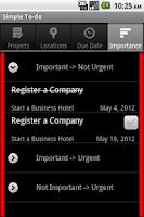 Screenshot of Simple ToDo