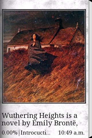 Wuthering Heights eBook - screenshot