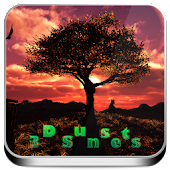 3D SunSet Tree Live Wallpaper