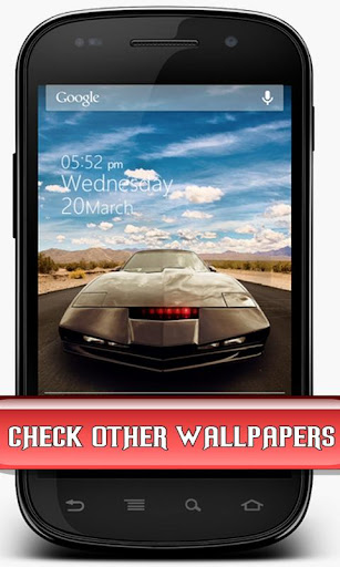 The most realistic KITT scanner out there, forget scanner animations - this live wallpaper is KITT and KARR scanner lights simulator, each light is ...