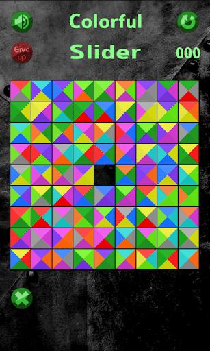 無料解谜AppのColorful Slider|記事Game