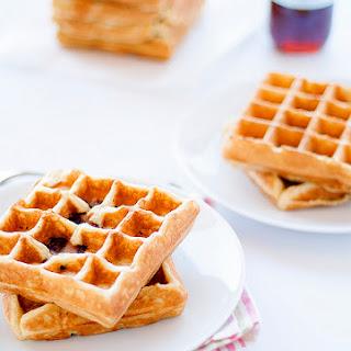 Maple Bacon Waffles.