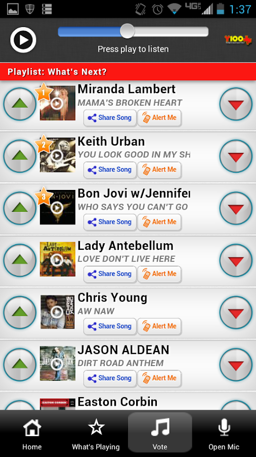 My Y100 - 100.3 San Antonio - screenshot