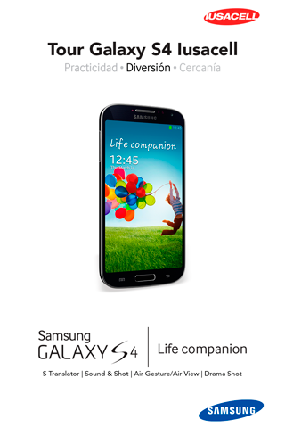 Tour Galaxy S4 Iusacell
