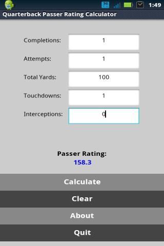 QB Passer Rating