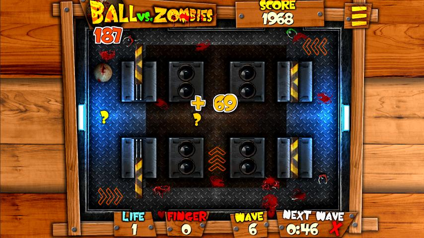 Ball vs. Zombies- screenshot