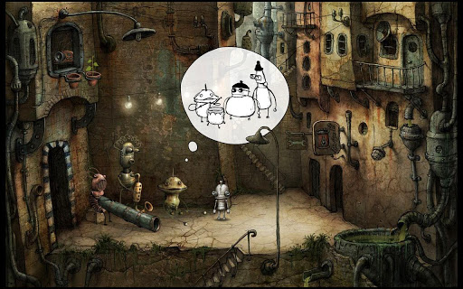 【免費冒險App】Machinarium-APP點子