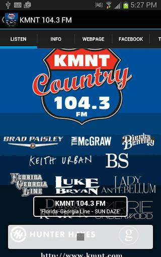KMNT 104.3 FM