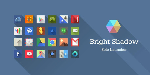 Bright Shadow Icons Wallpapers