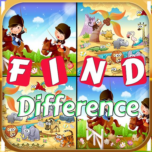 Find Differences Animal 教育 App LOGO-APP試玩
