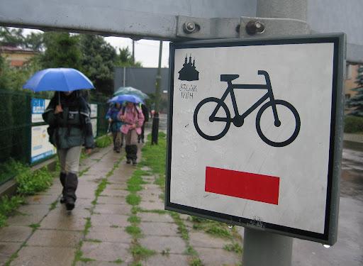 Szlak rowerowy w Sanoku