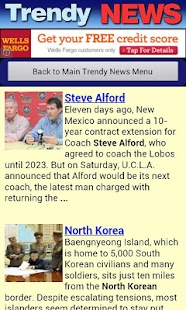 Trendy News- screenshot thumbnail