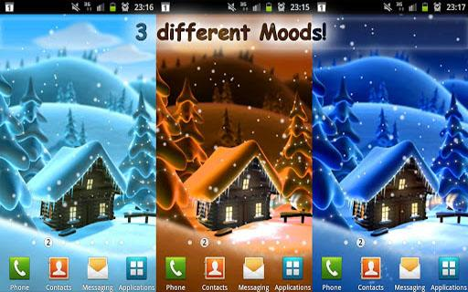 Winter Snow Live Wallpaper LWP - screenshot