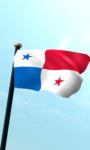 巴拿馬旗3D動態桌布