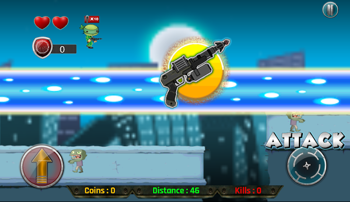 Turtles Rangers vs Zombies- screenshot thumbnail
