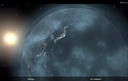 Earth HD 3D Pro - screenshot thumbnail