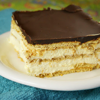 No-Bake Chocolate Eclair Dessert