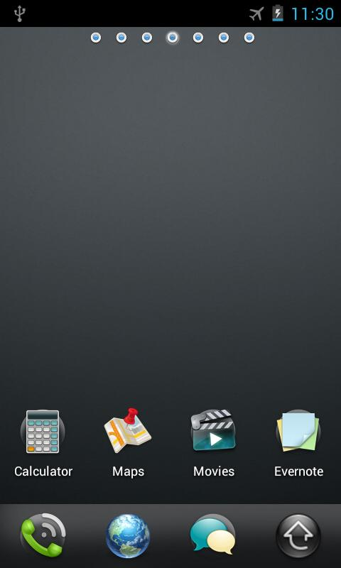 WebOS Go Launcher EX Theme - screenshot