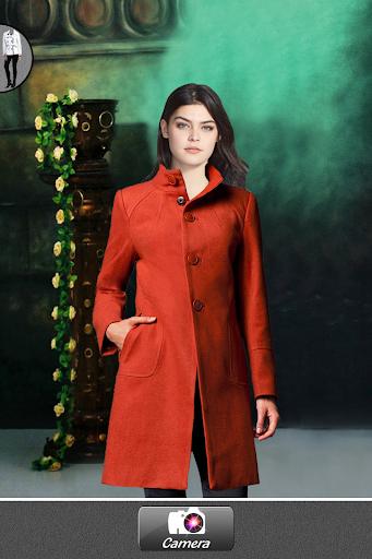 女外套西服的照片