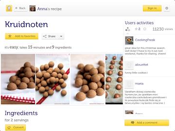Cooklet for tablets Screenshot 13