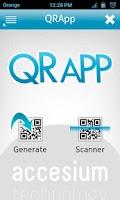 Screenshot of QRApp