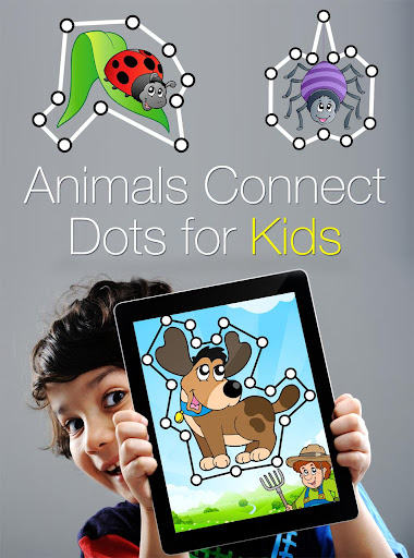 Animals Connect Dots for Kids