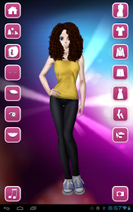 Style Dress Up: Girls - screenshot thumbnail