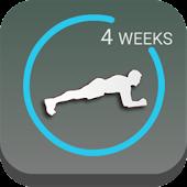 4 Weeks Plank Challenge