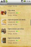 Screenshot of El Koujina-Recettes de Tunisie