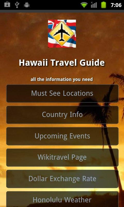 hawaii travel guide android apps on google play. Black Bedroom Furniture Sets. Home Design Ideas
