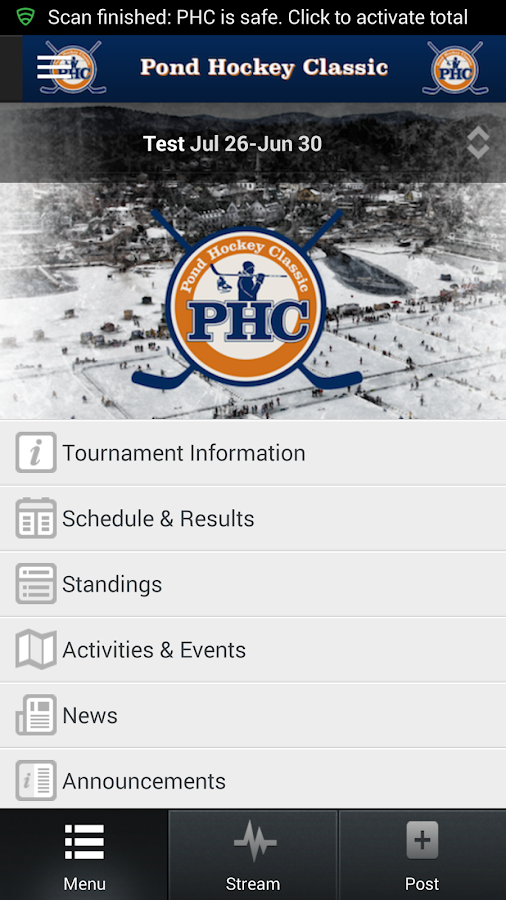 Pond Hockey Classic- screenshot
