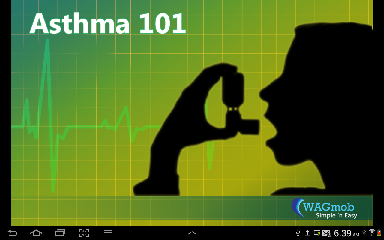 Asthma 101 by WAGmob - screenshot