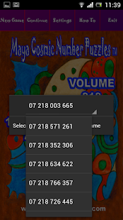 MAYA COSMIC NUMBER PUZZLES 218 - screenshot thumbnail