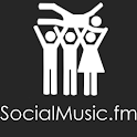SocialMusic.fm BETA logo