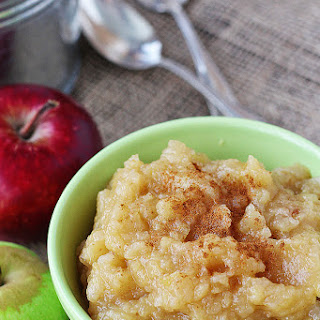 Easy, Chunky Homemade Applesauce - Grandma's Recipe (Gluten Free, Dairy Free, Vegan).