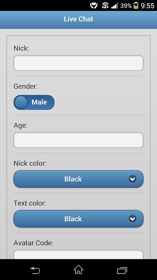 free chat rooms android